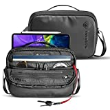 tomtoc Daily Shoulder Bag for 10.9-inch iPad Air 4, 11-inch iPad Pro, Messenger Bag for 9.7-10 inch Tablet, Waterproof Crossbody Bag with Smart Organization for Accessories/Essentials Lightweight