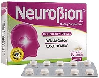 Neurobion Classic 20 Tablets Vitamin B Energy Booster - Formula Clasica