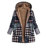 TOPKEAL Jacke Mantel Damen Herbst Winter Sweatshirt Knopf Reißverschluss Tunika Steppjacke Kapuzenjacke Übergröße Hoodie Pullover Unregelmäßiger Outwear Coats Tops Mode 2020