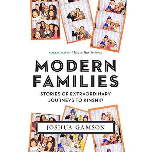 Modern Families audiobook cover art