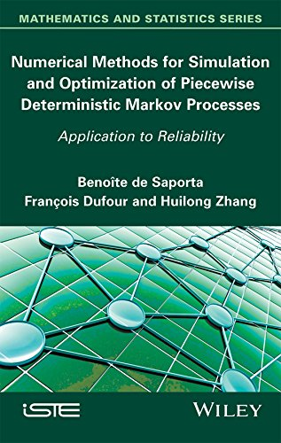 Numerical Methods for Simulation and Optimization of Piecewise Deterministic Markov Processes: Application to Reliability (Mathematics and Statistics) (English Edition)