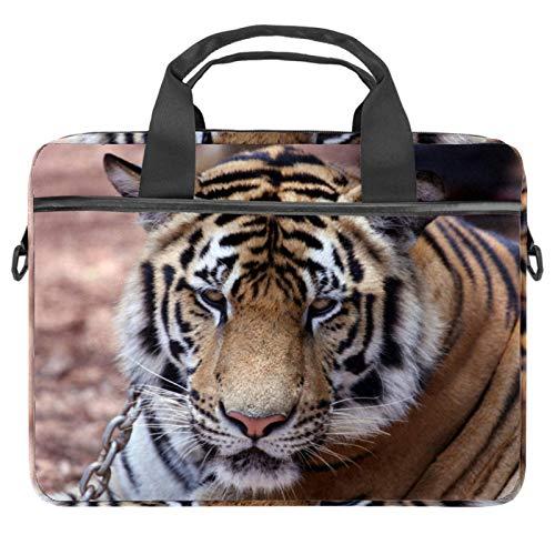 Computer Bag Suitable for MAC Computers Men and Women Handbags: 13.4 inch-14.5 inch Lightweight 15 Inch Laptop Bag Business Messenger Asian Tiger