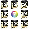 8-Pack WAKYME Outdoor Deck Solar Lights