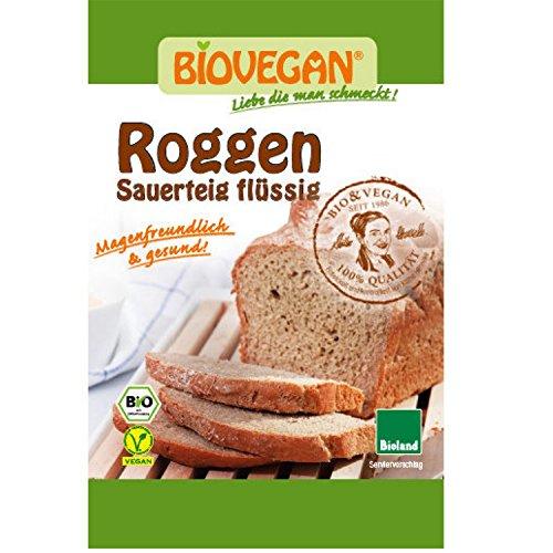 Biovegan, Roggen Natur-Sauerteig flüssig, 150ml