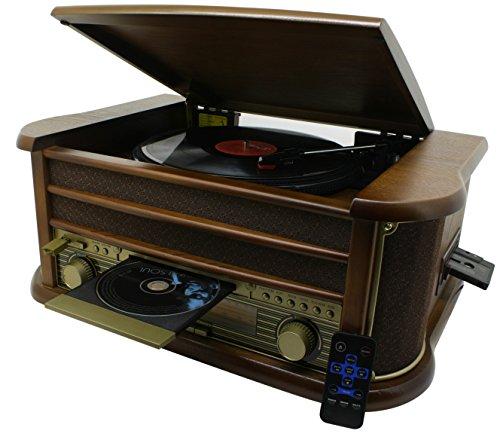 Soundmaster NR513A  Nostalgie Stereo Musikcenter mit Encoding-Funktion