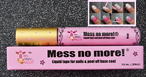 Mess No More. LIQUID TAPE FOR Pretty Nails 10ml (.35oz)