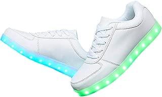 [M0N0liTH] LED 光る スニーカー シューズ 靴 7色+4パターン 発光 USB充電 メンズ レディース
