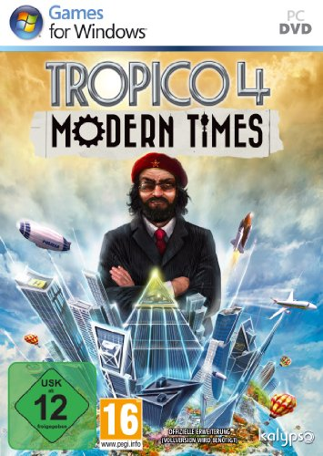 Tropico 4: Modern Times (Add-On) [Importación alemana]