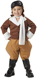 Toddler Pilot Costume (Size: 2T-4T)