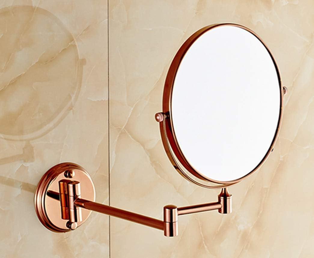 LUDSUY Antique Copper Folding Beauty Bath Mirror Inch Soldering 8 New sales European