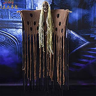 Professional Horror Hanging Halloween Ghost Electric Haunted House Escape Spooky, Electric Halloween Decorations - Halloween Ghost Decor, Halloween Hanging Decorations, Scary Hanging Ghost Halloween
