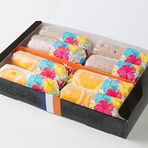 Rolls New York アイスロール アソート 8本入 新杵堂 ロールケーキ ミニロール 洋菓子 スイーツ インスタ映え かわいい お土産 アイス ギフト