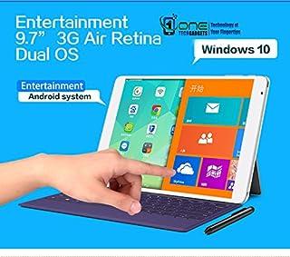 """TECLAST X98 Air 3GデュアルOSアンドロイド5 / Windows 10、9.7""""Retinaスクリーン、2GB / 64GB、Intel Z3735FクアッドコアCPUタブレット電話無料スクリーンプロテクター+ Office ..."""