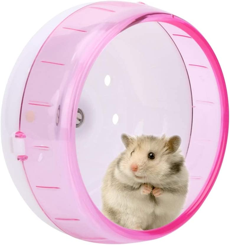 GLOGLOW Hamster Discount is also underway Wheel 11.5cm Spinner Exe unisex Plastic Silent