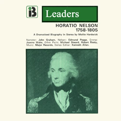 Horatio Nelson audiobook cover art