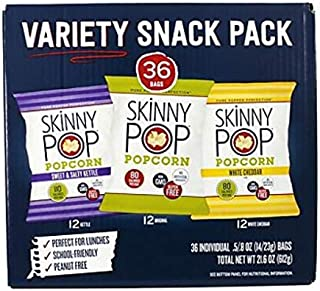 36-Count | Variety pack of popcorn | Gluten-free | dairy-free | peanut-free