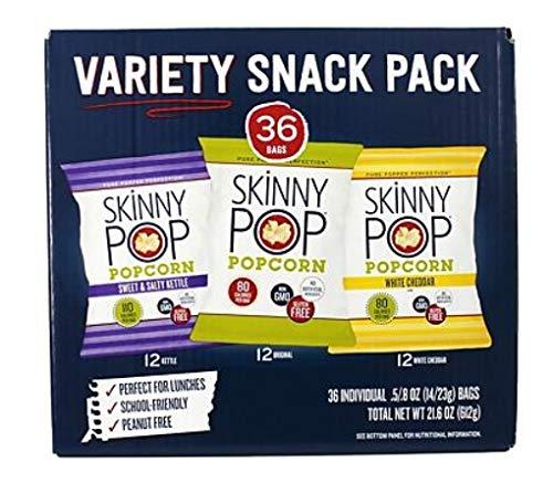 Best Bargain 36-Count | Variety pack of popcorn | Gluten-free | dairy-free | peanut-free