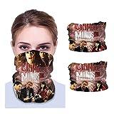 CRI-Minal Mi-Nds Neck Gaiter Uv Protection Face Cover Bandana Face Neck Scarf Balaclava Headwear (2 Pcs)