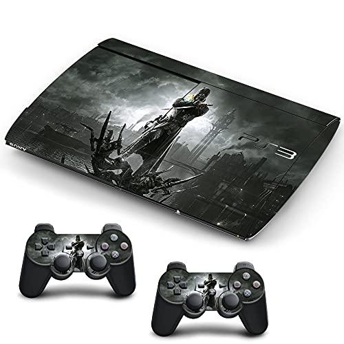 VINILOL Vinilo Dishonored para Playstation 3 Super Slim pegatina cubierta skin para consola y 2 mandos