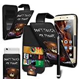 N4U Online® Don't Touch My Phone - Bear' Printed Clip On