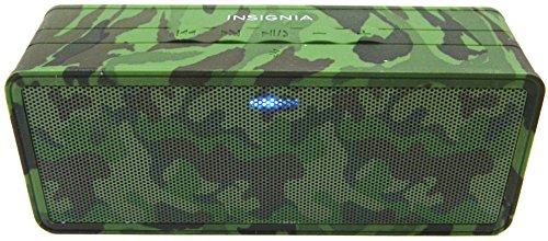 Insignia Portable Bluetooth Speaker (NS-SPBTBRICK-CM) Camo - New