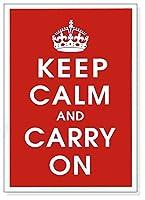ポスター 作者不明 Keep Calm (Red)