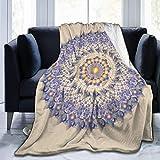 JONINOT Mandala The Blanket Colcha de Microfibra Manta Colcha de Cama 80 'x 60'