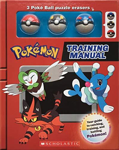Training Manual (Pokémon Training Box with Poké Ball erasers)