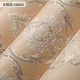 BGI Papier Peint Papier Peint rétro en Relief 3D Salon Chambre TV Fond d'écran Fond...