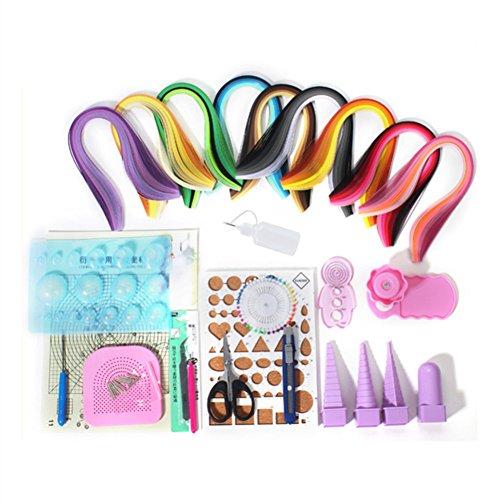 Kit de herramientas para filigranas de papel artesanales para principiantes, 18 tipos de...