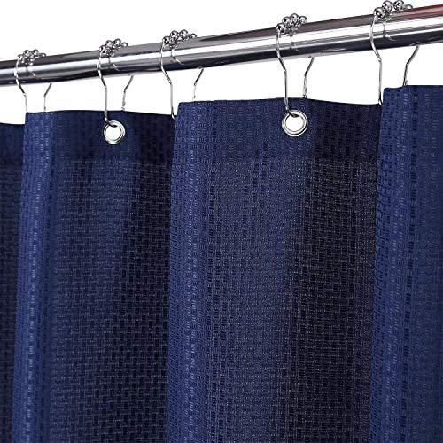 Duschvorhang Badezimmer Gardinen Wasserdicht Badezimmer Duschvorhänge Dunkelblau 90cm*180cm