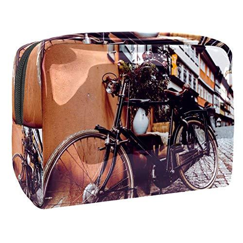 Tizorax Sac de maquillage en PVC pour vélo