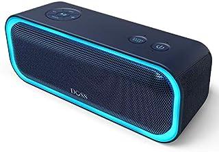 Bluetooth4.2 スピーカーDOSS SoundBox Pro 20W出力 ポータブルブルートゥース ワイヤレススピーカー IPX5防水 TWS機能対応 ライティング機能 SD TFカード再生 重低音モデル