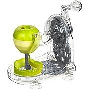 Lurch Apfelschäler, Kunststoff, Iron Grau/Weiß, 12 x 19 x 17 cm