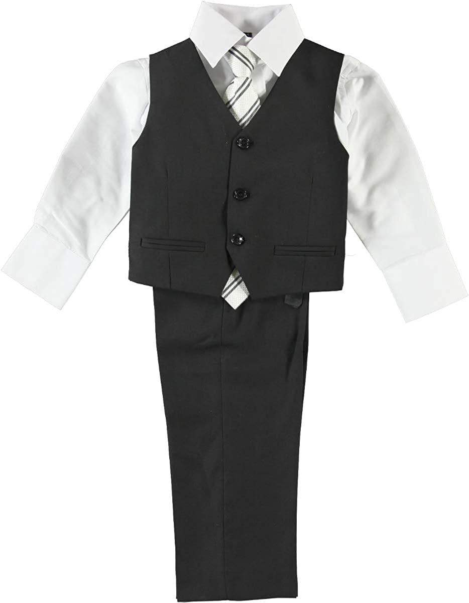 Oklahoma City Mall Boys' Max 55% OFF Classic Style Modern Fit Set Dresswear Suit 5-Piece Formal