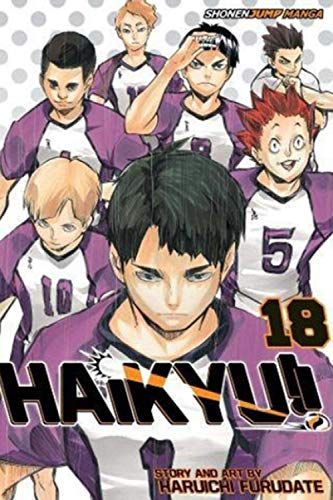 "Composition Notebook: Haikyuu Vol. 18 Anime Journal/Notebook, College Ruled 6"" x 9"" inches, 120 Pages"