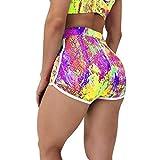RODMA Pantalones Cortos de Yoga con Cintura Alta para Mujer