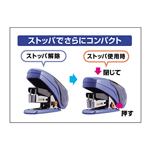 Max Style Stapler Sakuri - 20 Sheets Max - Red Photo #5