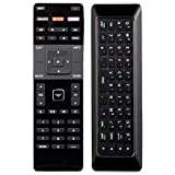 XRT500 Two-sideds Remote Control QWERTY Keyboard Compatible with 2015 2016 VIZIO Smart APP Internet TV M43-C1 M43C1 M49-C1 M49C1 M50-C1 M50C1 M55-C2 M55C2 M60-C3