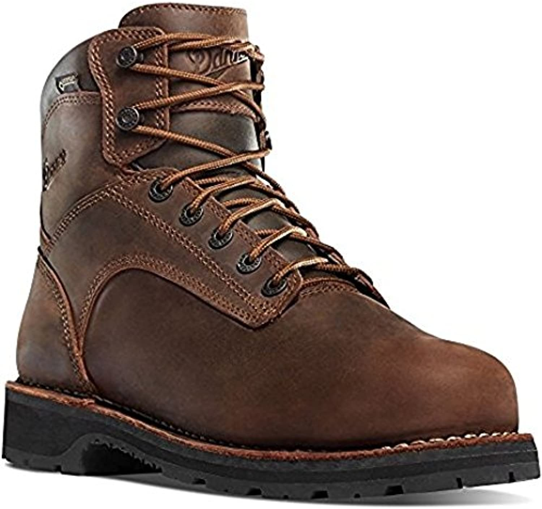Danner Workman 6  Brown (16281) Vibram Sole Oil & Slip Resistant   Electrical Hazard Boot Leather