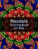 Mandala Coloring Book for Kids: Easy 40 Mandala Coloring Page for Children and Toddlers (mandala coloring book for kids ages 4-8)