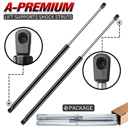 A-Premium Tailgate Rear Hatch Lift Supports Shock Struts Replacement for Chevrolet Suburban Tahoe Yukon Escalade 1995-2004 2-PC Set