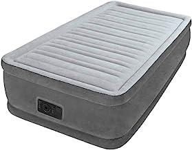 مرتبة دورا بيم بلش من انتكس 64412 عالية الارتفاع - رمادي، سرير حجم مفرد