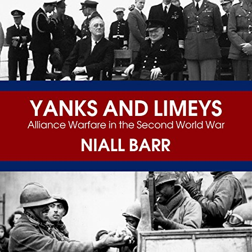 Yanks and Limeys audiobook cover art