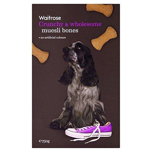 Crunchy & Groothandel Muesli Biscuit Bones Waitrose 750g (PACK OF 2)