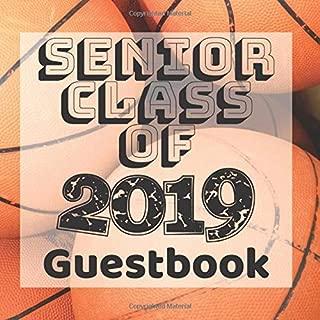 Senior Class of 2019 Guestbook: Basketball Sports Jock Player Team Graduation Party Guest Sign In Book Registry Graduate Parties Supplies Keepsake ... Address University College High School