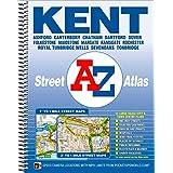Kent County Atlas: Ashford, Canterbury, Chatham, Dartford, Dover, Folkestone, Maidstone, Margate, Ramsgate, Rochester, Royal Tunbridge Wells, Sevenoaks, Tonbridge (Street Atlas)