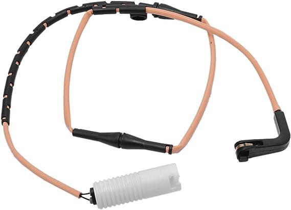 X AUTOHAUX 34356778038 Car Rear Brake Pad Wear Sensor for 2006-2008 BMW 750i 750Li