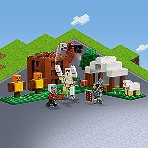 Amazon.co.jp - レゴ マインクラフト ピリジャー部隊 21159