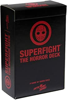 Superfight Horror Deck: 100 Themed Cards for The Game of Absurd Arguments   for Teens and Adults, 3 or More Players Ages 13+